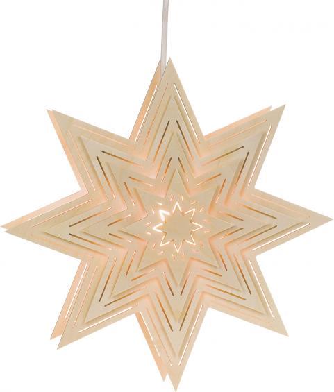Stern mit Lichtschlitzen