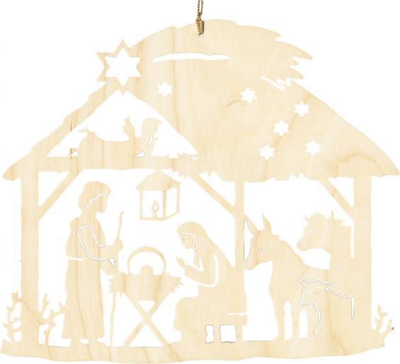 Christgeburt im Haus