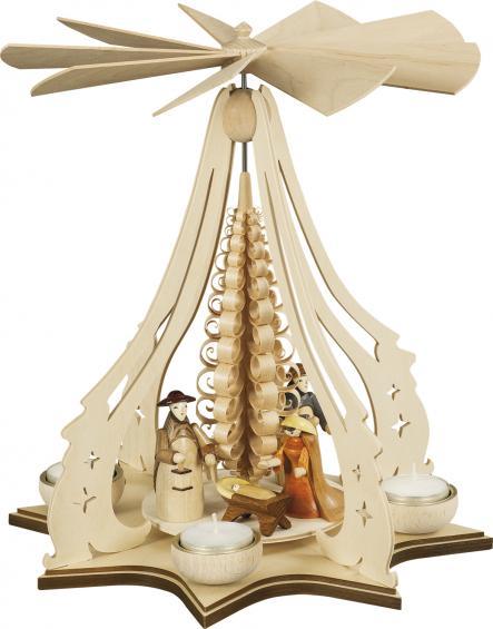 Pyramide mit Christgeburt