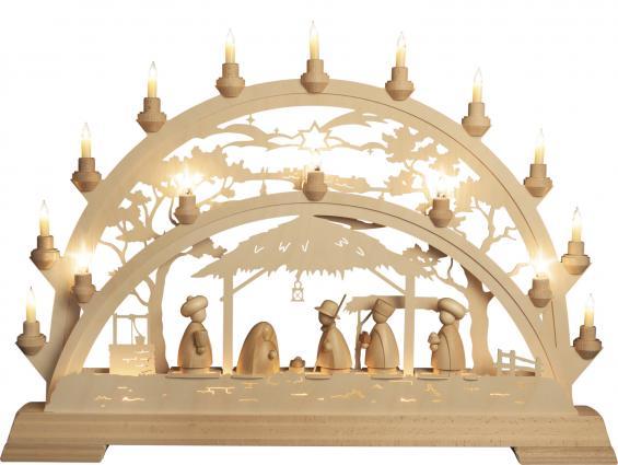 Pinie - Heilige Familie mit Königen